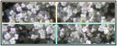 Таблиця 2х2 наповнена кантинками