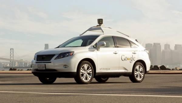 Безпілотний автомобіль Google